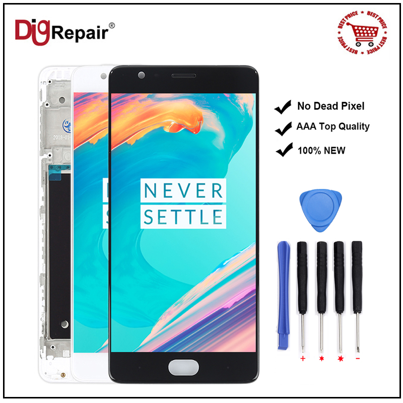 Front Screen Outer Glass Lens Cover For OnePlus 3 A3000 1+ 3