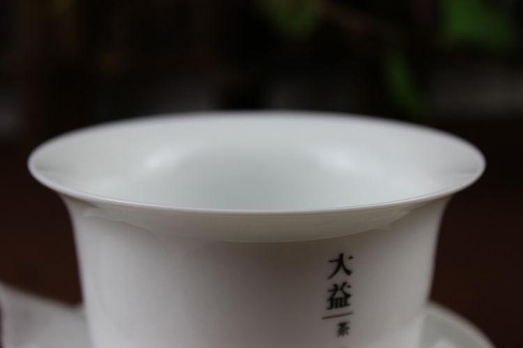 [Grandiosidade] puer er chá dayi gaiwan conjunto