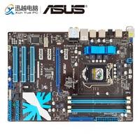 Asus P7H55 Desktop Motherboard H55 Socket LGA 1156 For Core i7 i5 i3 DDR3 16G SATA2 USB2.0 ATX Original Used Mainboard