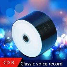 Компакт-диски записываемые cd-r мин. пустой мб скорость шт./лот