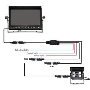 Image 5 - Accfly cámara de marcha atrás para coche, impermeable, 1080p, AHD, CCD, Dvr, vista trasera para camiones, autobús, remolque, mando a distancia