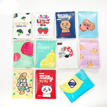 YIYOHI Multiple Styl Creative Candy Snacks Coin Purse Children PU Leather Zipper Change Purse Women Wallet Holder Mini Money Bag
