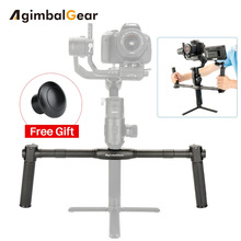 AgimbalGear Dual Handheld Gimbal Accessori per Dji Ronin S Esteso Maniglia Grips Handbar Mount
