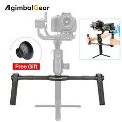 AgimbalGear Dual Handheld Gimbal Accessories for Dji Ronin S Extended Handle Grips Handbar Mount