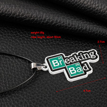Breaking Bad Words Necklace for Men and Women