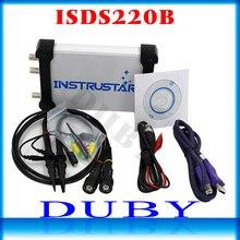 ISDS220B 4 в 1 Многофункциональный ПК USB виртуальный цифровой осциллограф + анализатор спектра + DDS + развертки генератор сигналов 60 м 200 мс/с