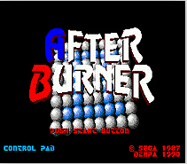 After Burner 2 16 bit MD card with Retail box for Sega MegaDrive Video Game console system 1