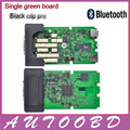 (3PCS/Lot)+DHL FreeShip Single Green Board CDP Bluetooth TCS CDP with LED Cable for Multibrand Vehicles CarTruck diagnostic tool