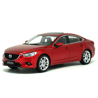 diecast wheel 1:18 Alloy Mazda ATENZA Car Model Of Children's Toy Cars Original Authorized Authentic Kids Toys For Collection