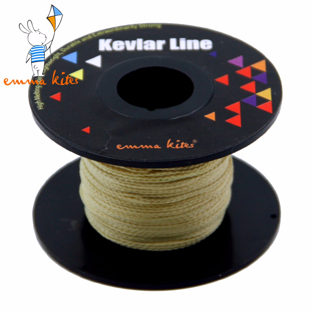 100ft 250lb Kevlar 1mm Braided Line For Fishing Flying Kite Line String Camping Backpackinng Outdoor Activities