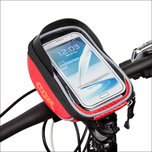 Новый Горная Дорога Велосипед Мешок 3 Цвета 1.7L Сенсорный Велосипед Сумка Велоспорт Передняя Топ Рама Руль Сумка Для 5.5 «мобильный телефон