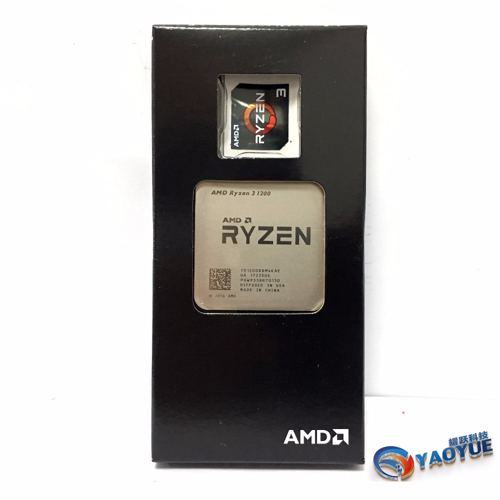 AMD Ryzen 3 1200 PC Computer Quad Core processor AM4 Desktop Boxed CPU-in CPUs from Computer & Office    1