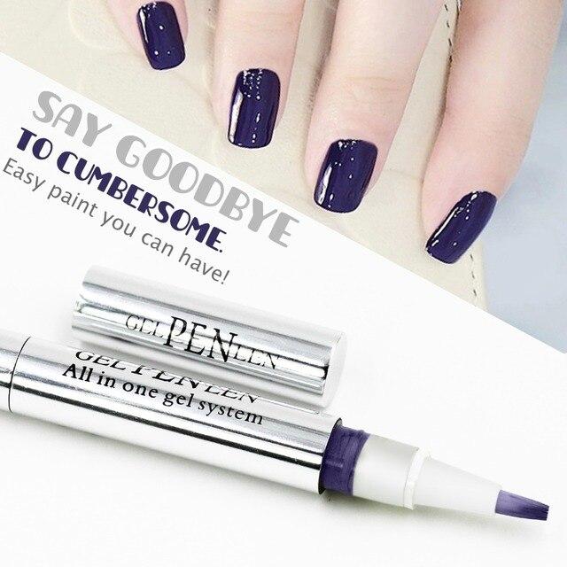 Nail Art Pen Gel Polish Painting Dot Drawing Pen Nail Gel Polish Hot ...