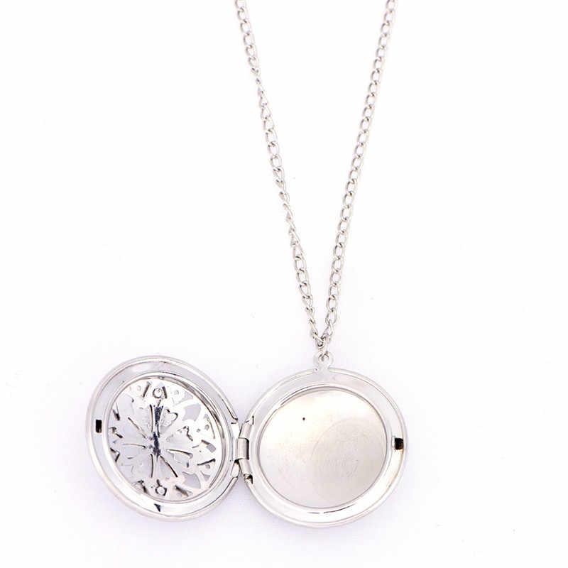 Naszyjnik ze stali nierdzewnej olejku aromaterapeutycznego chirurgiczny wisiorek dyfuzor do perfum medalion New Arrival ponad 16 stylów