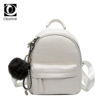 Mini sacs à dos femmes PU cuir mignon petit sac à dos femme blanc sac à dos noir sacs à dos pour adolescentes mode sac à dos femme