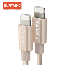Suntaiho For iPhone X 8 7 6 Plus 6S 5 5S USB Charger Fast Charging Cable For iPad iPod Lighting Charging Mobile Phone Cable