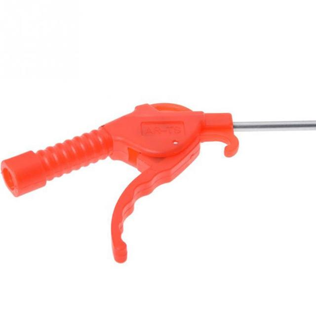 Red Plastic Handle Angled Bent Nozzle Air Duster Blow Gun Cleaner Air Blower Duster Blow Dust Gun Pneumatic Tool Home Appliance Parts Personal Care Appliance Parts Long
