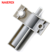 NAIERDI 5Set/Lot Kitchen Cabinet Catches Door Stop Drawer Soft Quiet Closer Damper Buffers With Screws For Furniture Hardware