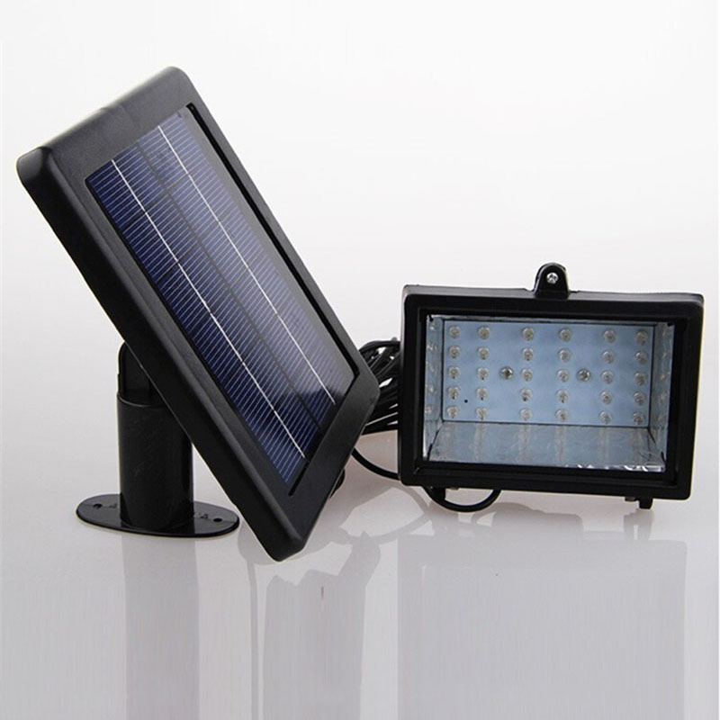 Solar Home Lighting: Solar Home Lighting System Floodlight 30 LED Outdoor Light
