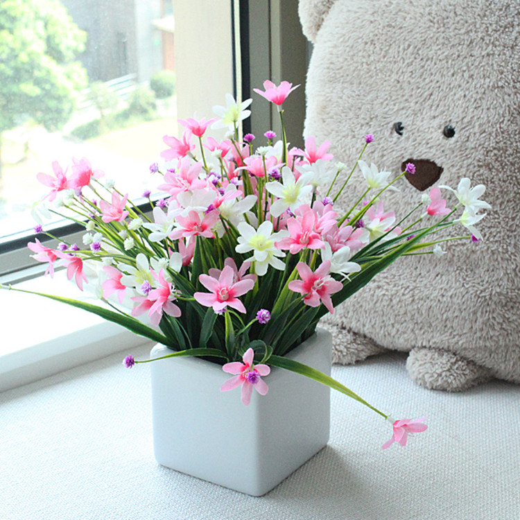 artificial flower the sitting room the bedroom home decoration new