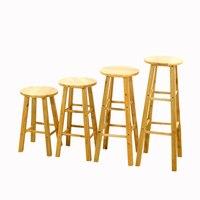 45 см/50 см/60 см/70 см/80 см Высота барный стул твердой древесины топ стул mordern Стиль Мебель для баров