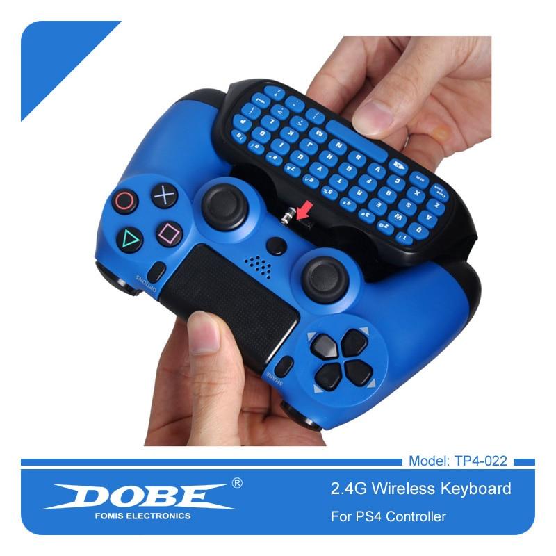 100% De Calidad Dobe 2,4g Teclado Controlador Inalámbrico Para Ps4 Slim Pro Gamepad Marca Patentada Mini Teclado Externo Teclado 022 Alta Calidad