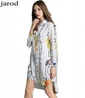 Long Sleeve Blouses Women Long White Shirt Breasted Print Chiffon Blouse Vintage Loose Casual Tops Blusas