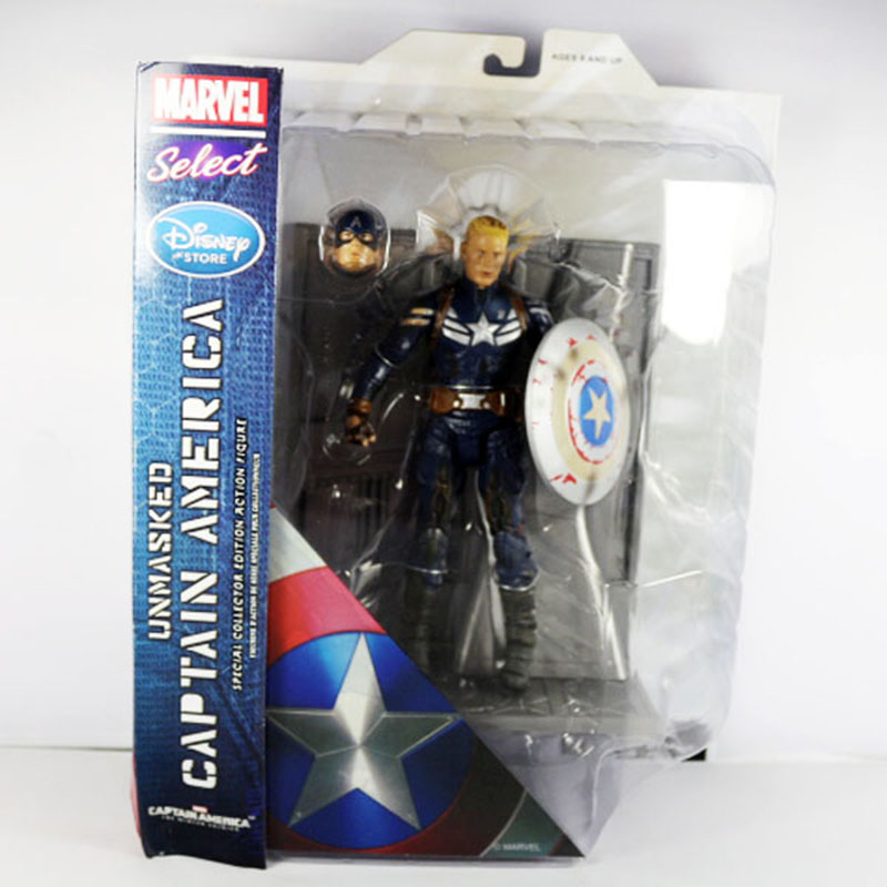 Movie Captain America Unmasked The Winter Soldier 19cm/7.5 Action Figure New in Box Free Shipping democracy in america nce