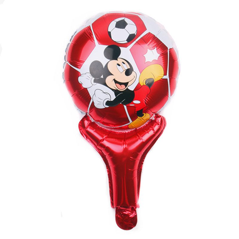 Festive & Party Supplies 2019 Latest Design Xxpwj The New Childrens Toy Round Aluminum Balloons Birthday Party Balloon Mickey Balloon Wholesale High Quality K-010 Moderate Cost Home & Garden
