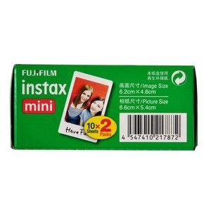 Image 4 - 50pcs feuilles Fujifilm Instax Mini Film pour Mini LiPlay 11 9 8 7s 25 70 90 appareil Photo instantané Mini lien Pinter blanc bord Photo papier