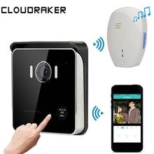 CLOUDRAKER Video Intercom Doorbell WIFI Wireless Smart Bell Door Phone System Bell HD Camera PIR Alarm Night Vision Unlock цена 2017