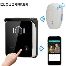 CLOUDRAKER Video Intercom Deurbel WIFI Draadloze Smart Bell Deurtelefoon Systeem Bell HD Camera PIR Alarm Nachtzicht Unlock(China)