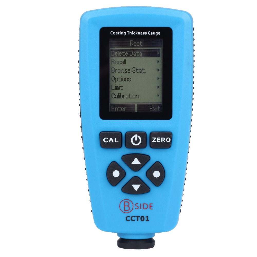 BSIDE CCT01 Digital Coating Thickness Gauge Meter Tester Range 0 to 1300um (0 to 51.2mils) With Internal F N Probe 1 pair silicone wire universal probe test leads pin for digital multimeter needle tip multi meter tester probe 20a 1000v