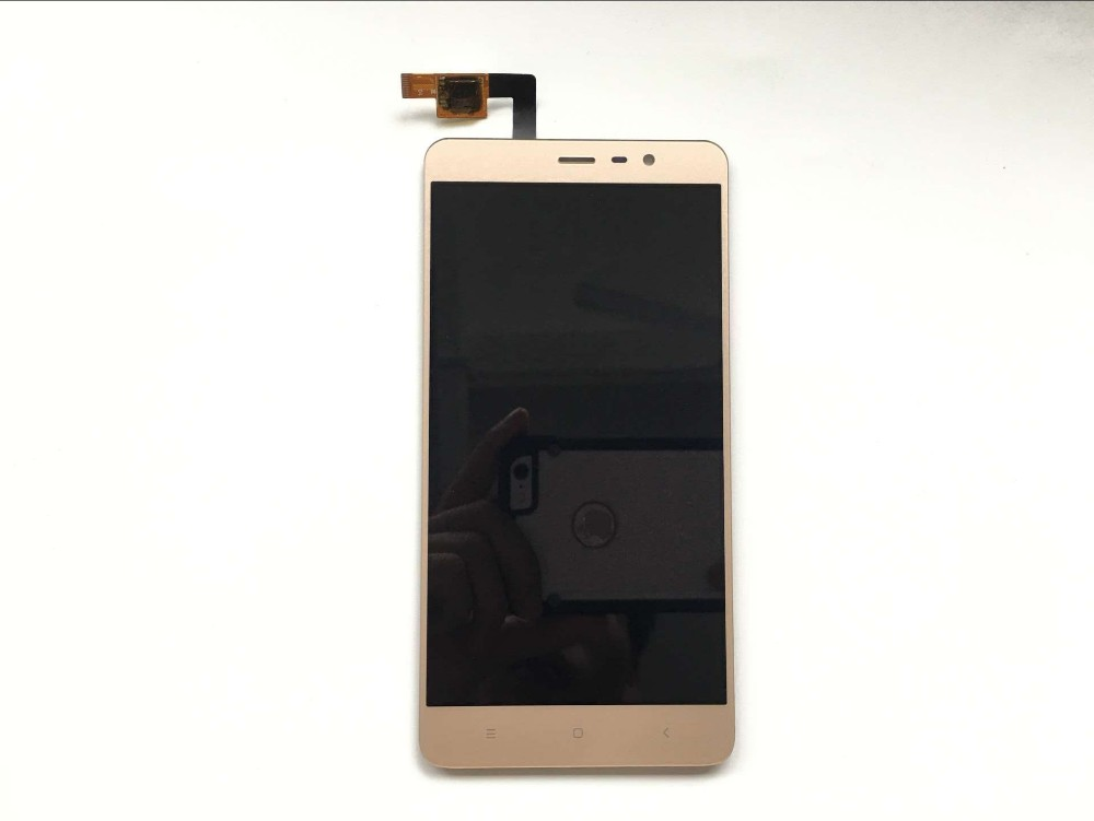 LCD Screen +Touch Display with frame for Xiaomi Redmi Note 3 Pro Soft-key Backlight for Redmi Note 3 Kenzo LCD Standard Edition