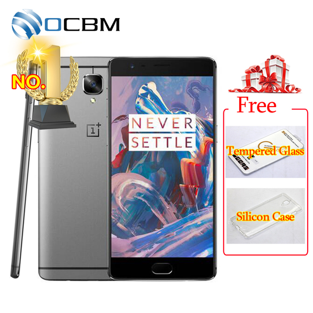 "Original Oneplus 3 A3000 Oneplus 3T A3010 6GB RAM 64GB ROM Snapdragon 820 821 Quad Core 5.5"" Android6.0 Mobile Phone Fingerprint"