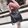 Leather Backpack Women 2019 Students School Bag Large Backpacks Multifunction Travel Bags Mochila Pink Vintage Back Pack XA529H 4