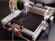 500 МВт DIY настольный лазерный гравировальный станок маркировочная машина режущий плоттер