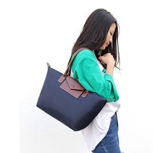 Image 5 - オックスフォード団子大容量ホーボーショルダーバッグハンドバッグショッピングトートビーチトップ女性のハンドバッグ品質3サイズ