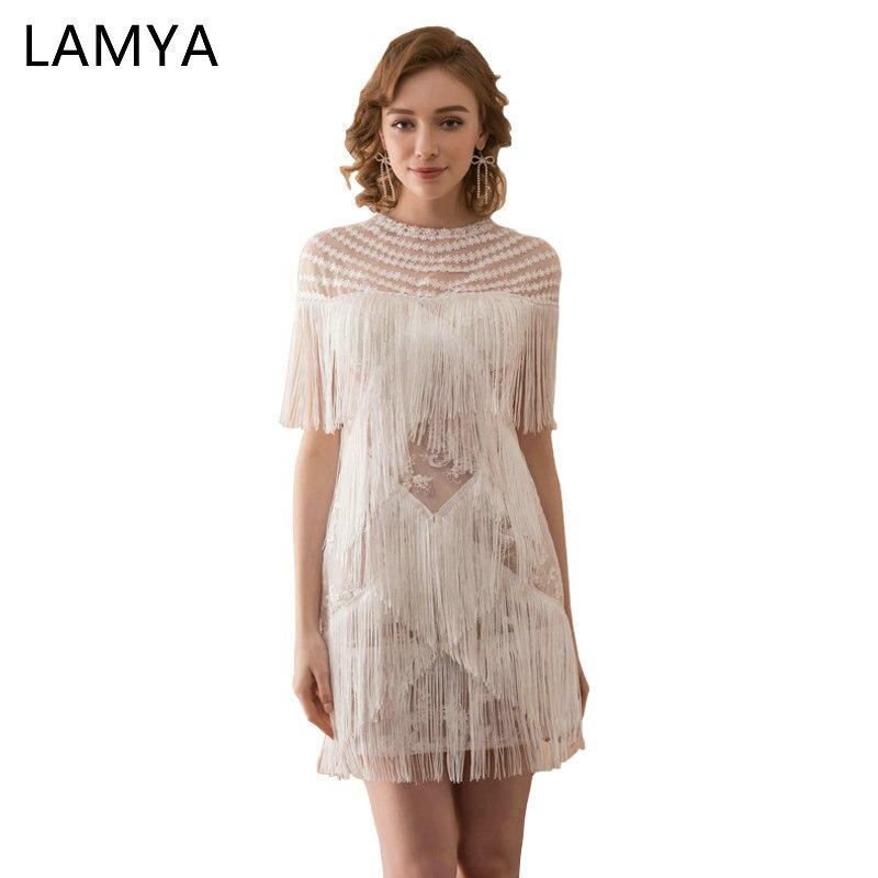 6f7c9539a6 Lamya recto corto Tasse vestidos 2019 princesa ilusión vestido de fiesta  noche elegante vestido de encaje vestidos de fiesta foto Real en Vestidos de  baile ...