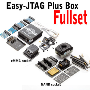 Image 5 - Jtag juego completo de caja fácil plus, Easy Jtag plus box + JTAG fácil de EMMC socket + NAND socket, versión 2020 ORIGINAL