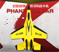 Rc Airplane SU 35 2 4g EPP Fixed Wing Rc Fighter RC Glider Remote Control Aircraft