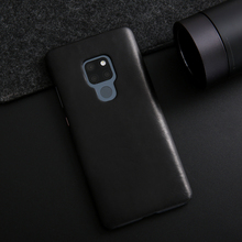 For Huawei Mate 20 Case Luxury Genuine Leather for Cowhide Vintage Cover Mate20