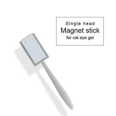 כפול ראש חזק חתול עין מגנט מקלות מקצועי חתול עין אפקט נייל כלים פרח לב 14 סגנונות חתול עין מגנט מקל לאם
