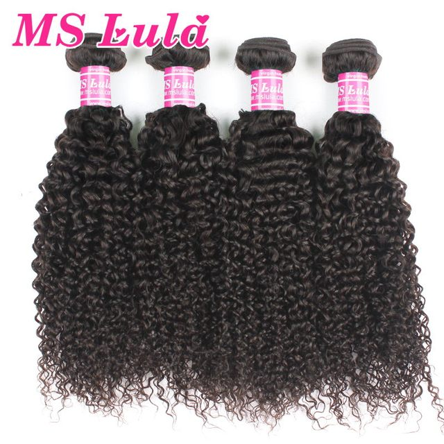 Free shipping 4 bundles deal 7A Mongolian kinky curly virgin hair 100% human hair Unprocessed Natural color No smell Top quality