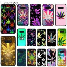 Lavaza Art High Weed Soft Case for Galaxy Note 8 9 S7 edge S8 S9 S10 Plus S10e M10 20 30 Cover