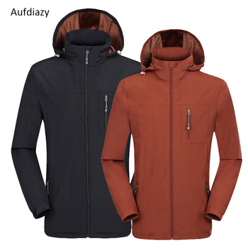 Aufdiazy Outdoor Sports lovers Camping Spring Autumn Waterproof Windbreaker Men Women Climbing Jackets Trekking Climbing, OM014