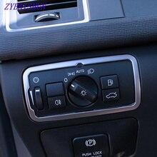 ZYBAISHUN нержавеющая сталь переключатель фар рамка Накладка для Volvo XC60 S60 V60 S80 V40 аксессуары для стайлинга автомобилей
