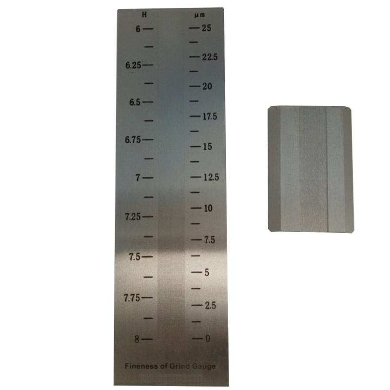 Division Value 1.25um Single-groove Scraper Fineness Meter For Coating BGD241/1 (0-25um)