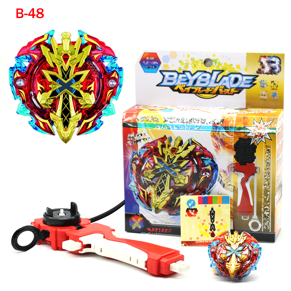 Sword God of war Beyblade Burst B-48 Starter Zeno Excalibur .M.I (Xeno Xcalibur .M.I) with launcher B-66 B-59 B-34 B-35 B-41 dickens c a christmas carol and other holiday treasures