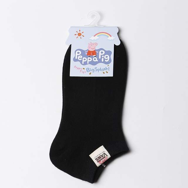 Men's personality cloth standard cotton socks fashion men's boat socks breathable comfortable knit men's summer hosiery socks